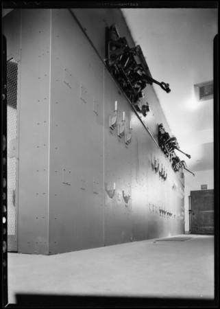 Installation at Bullock's, Wilshire, Diamond E. Electric, Los Angeles, CA, 1931