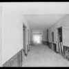 County Hospital, construction, interiors, Los Angeles, CA, 1931