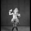 Three little girl dancers from Miss Keller's school, Southern California, 1929