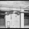 Plumbing installations at County Hospital, Howe Brothers, Los Angeles, CA, 1931