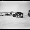 Studebaker racing on Muroc Dry Lake, Southern California, 1931