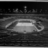 Los Angeles Memorial Sports Arena, interior view, preparation for Memorial Day dedication ceremony