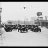 Scenes near 4th Street & Vermont Avenue, violations of zoning, traffic, etc., Los Angeles, CA, 1931