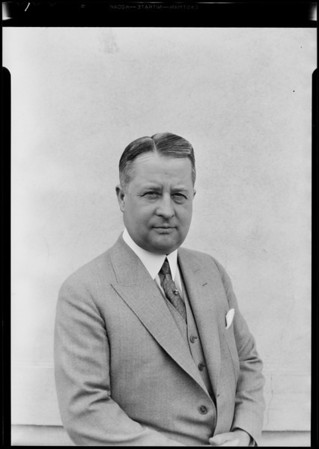 Mr. Lewis at Standard Brands Incorporated, West 48th Street & South Main Street, Los Angeles, CA, 1931
