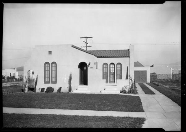 3209 Stockbridge Avenue, Los Angeles, CA, 1926