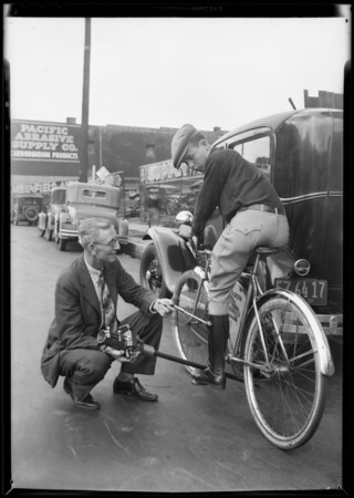 Free wheeling device, Trojan Auto Products Co., Southern California, 1931