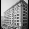 Exterior of the building, in 2 shots for composite, Los Angeles, CA, 1930