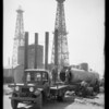 Carmean truck and trailer at Signal Hill, CA, 1929