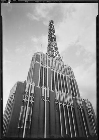 Richfield building, Southern California, 1930