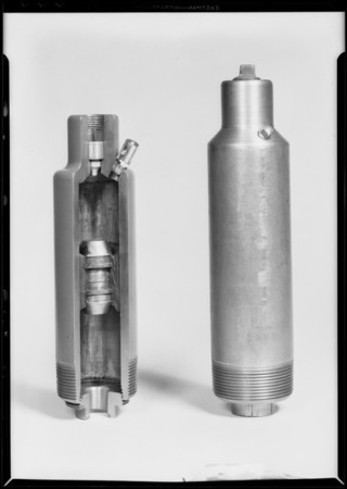 Oil tool, Elliott Manufacturing Co., Southern California, 1931