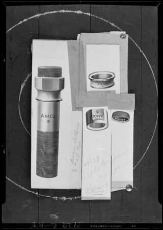 4 cup top plunger extension body, Southern California, 1929