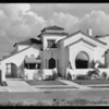 House at 356 North Poinsettia Place, Los Angeles, CA, 1931