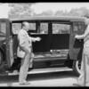 New cars, Pierce Bros., Southern California, 1931