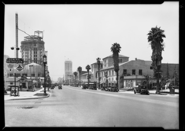 Street scenes, Forestry Division - City of Los Angeles, Southern California, 1931
