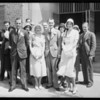 Wedding, Russell Moore, Southern California, 1931