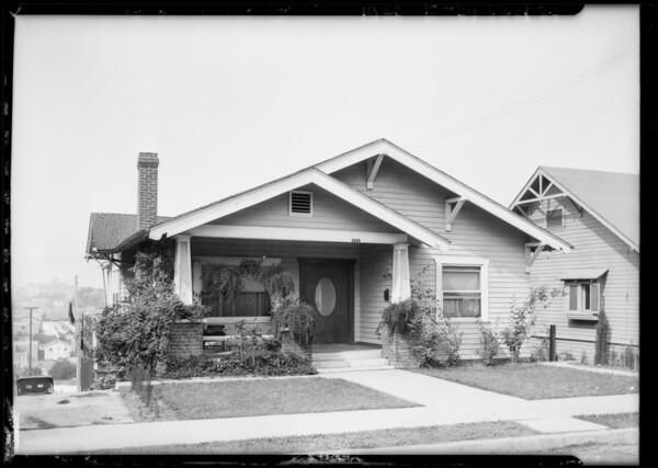 1339 Waterloo Street, Los Angeles, CA, 1925
