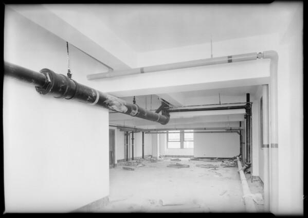County Hospital, construction, interiors, Talgren Co., Los Angeles, CA, 1931