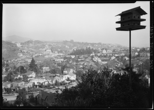 2200 Broad View, Hollywood, Los Angeles, CA, 1925