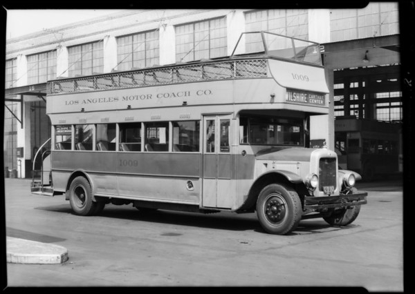 White & Hall Scott motor installations on Los Angeles Railway buses, Southern California, 1931