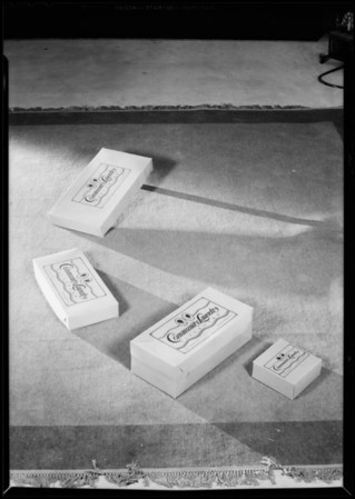 Community Laundry Incorporated boxes, Hollywood Paper Box Co., Southern California, 1930