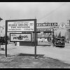 Service station in Compton, CA, 1930