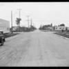 Intersection of East 102nd Street & South Main Street, Los Angeles, CA, 1930