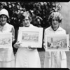 Campaign shots for publicity, Immaculate Heart College, Southern California, 1929