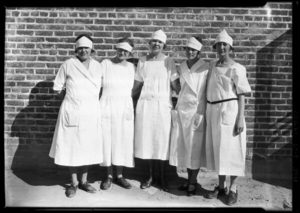"""L.A. Creamery shots for """"Lily"""", Southern California, 1925"""