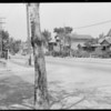 Intersection, Trinity Street and East 23rd Street, Los Angeles, CA, 1929