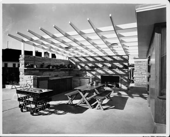 Post-war house built by F.B. Burns Research Division