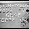 Eggs for Graf Zeppelin, Southern California, 1929