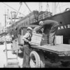 Shipment of Blackor to Russia, Southern California, 1929