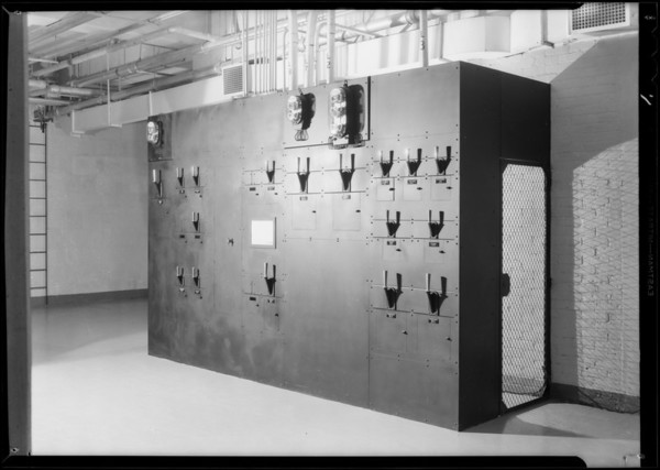 Installation at Associated Telephone Co., Long Beach, CA, 1931