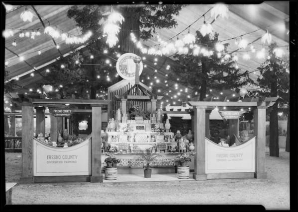 Fresno County, California land show, Southern California, 1930