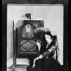 Majestic radio with Bebe Daniels, Southern California, 1929