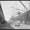 Loading shipment aboard Arizonan - American Hawaiian Line, Southern California, 1929