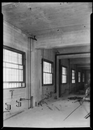 Steam installations, County Hospital, Los Angeles, CA, 1931