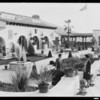 Copy of 8x10 garden negative to 5x7, Southern California, 1930