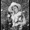Doreen Banks at tract, Southern California, 1930