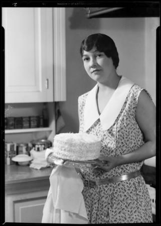 Mrs. George F. Pennebaker, user of Parfay, 5000 Echo Street, Los Angeles, CA, 1931