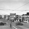 Main Street, looking north at Twelfth Street, Twelfth & Main Cafe, The Market Company, Hotel Santa Rita