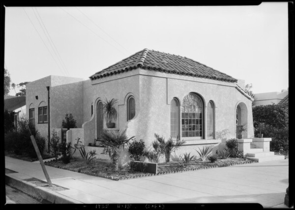 Pacific Ready Cut Homes, sample house, Southern California, 1925