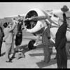 Prest-O-Lite plane at United Airport [Bob Hope Airport], Burbank, CA, 1931