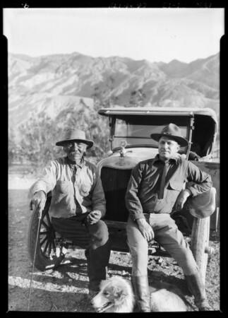 Chevrolet party in Death Valley, CA, 1926