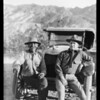 Chevrolet party in Death Valley, CA, 1926