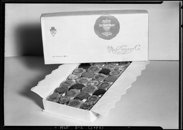 Glazed fruit for Model Grocery Company, Pasadena, CA, 1925