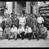 Filipino men, National Auto School, Southern California, 1929