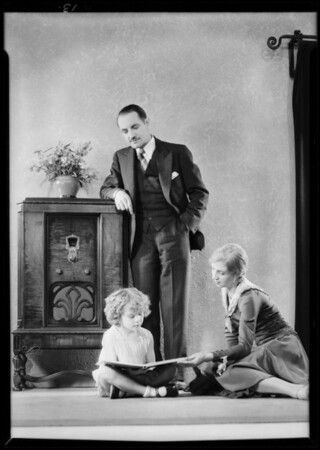 New models, Majestic Radio, Southern California, 1930