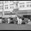 Service cars, Ruud Heater Company, Los Angeles, CA, 1930