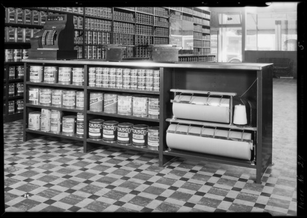 Paint store, 45 West Colorado Boulevard, Pasadena, CA, 1931
